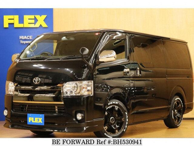 Used 2016 TOYOTA HIACE VAN BH530941 for Sale