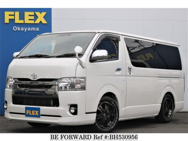 Used 2018 TOYOTA HIACE VAN BH530956 for Sale