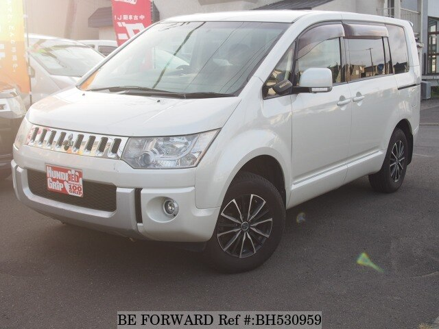 Used 2007 MITSUBISHI DELICA D5 BH530959 for Sale