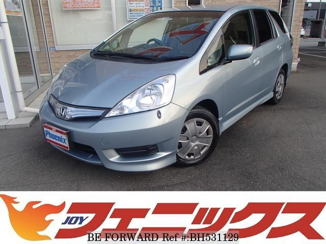 Used 2012 HONDA FIT SHUTTLE HYBRID BH531129 for Sale