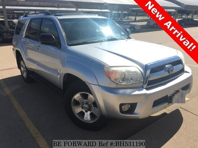 Used 2007 TOYOTA 4RUNNER BH531190 for Sale