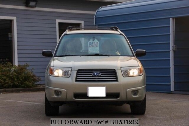 Used 2006 SUBARU FORESTER BH531219 for Sale
