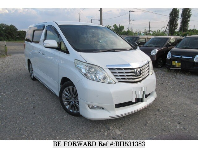 Used 2009 TOYOTA ALPHARD BH531383 for Sale