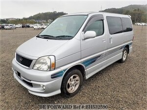 Used 2001 TOYOTA REGIUS WAGON BH532590 for Sale