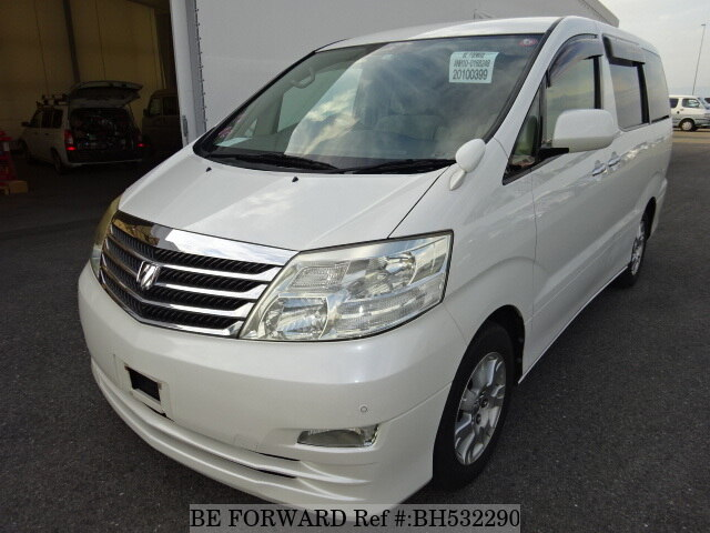 Used 2006 TOYOTA ALPHARD BH532290 for Sale
