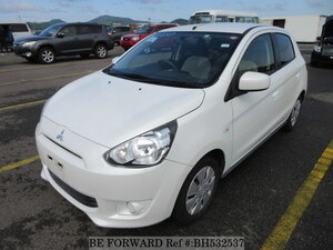 Used 2013 MITSUBISHI MIRAGE BH532537 for Sale