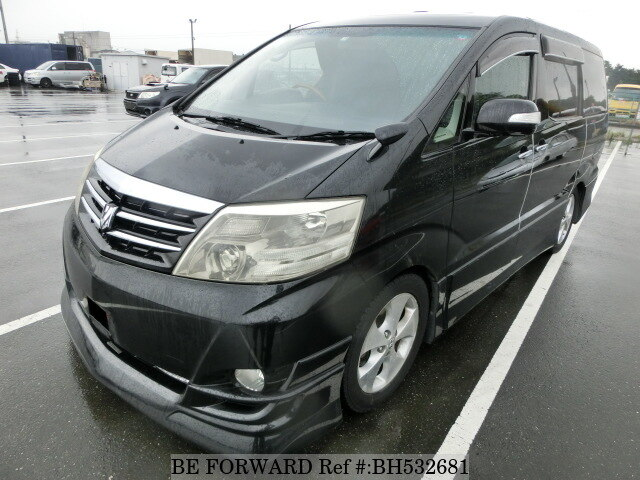 Used 2007 TOYOTA ALPHARD BH532681 for Sale