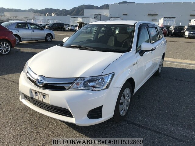 Used 2014 TOYOTA COROLLA FIELDER BH532869 for Sale