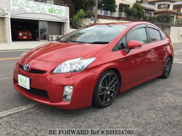 Used 2011 TOYOTA PRIUS BH534760 for Sale