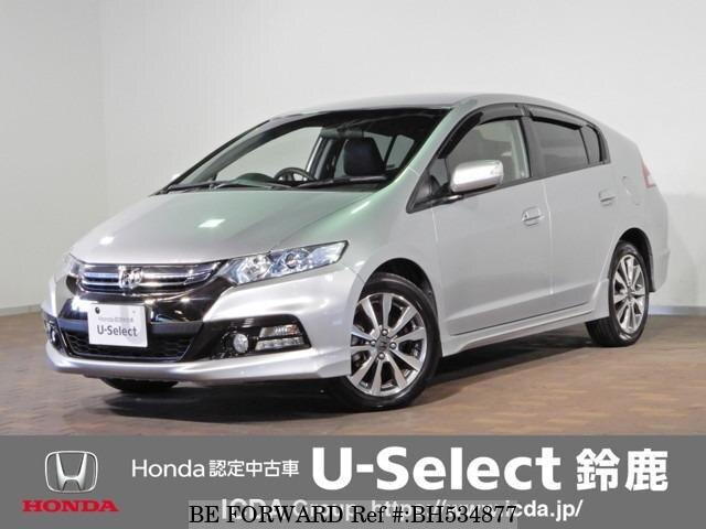 Used 2012 HONDA INSIGHT EXCLUSIVE BH534877 for Sale