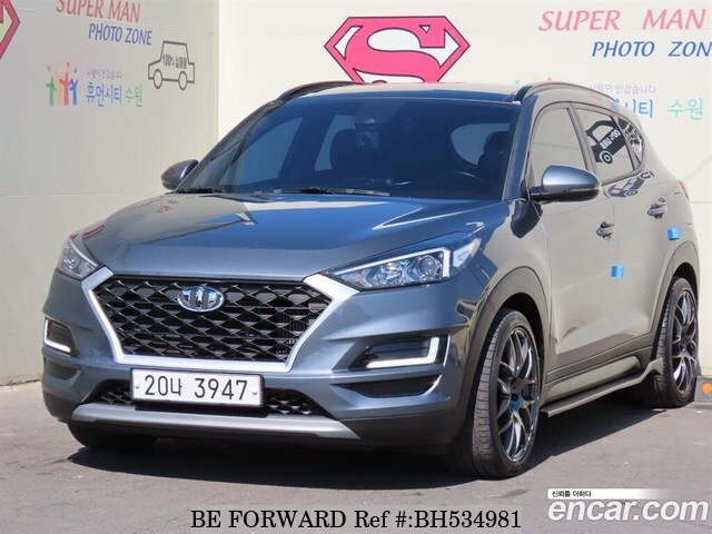Used 2019 HYUNDAI TUCSON BH534981 for Sale