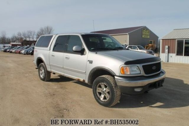 Used 2002 FORD F150 BH535002 for Sale