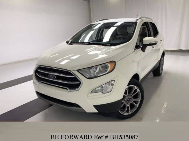 Used 2019 FORD ECOSPORTS BH535087 for Sale