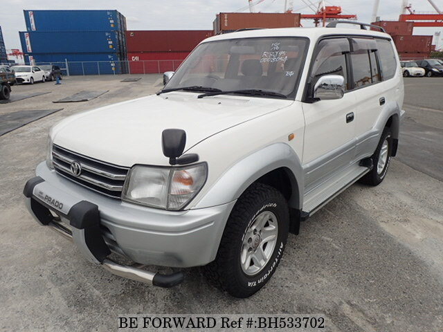 Used 1997 TOYOTA LAND CRUISER PRADO BH533702 for Sale