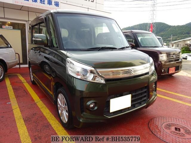 Used 2014 SUZUKI SPACIA BH535779 for Sale