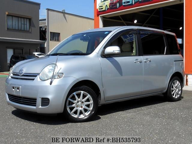 Used 2007 TOYOTA SIENTA BH535793 for Sale