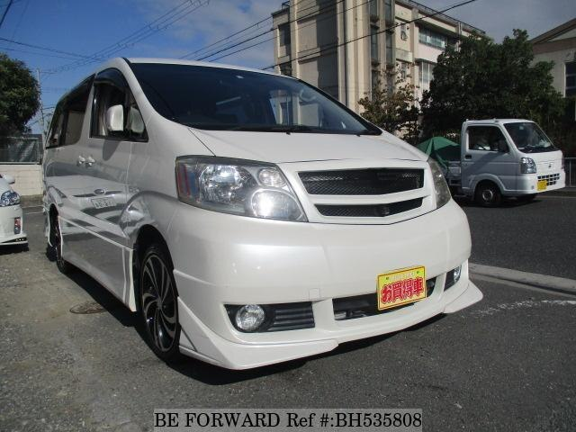 Used 2004 TOYOTA ALPHARD BH535808 for Sale