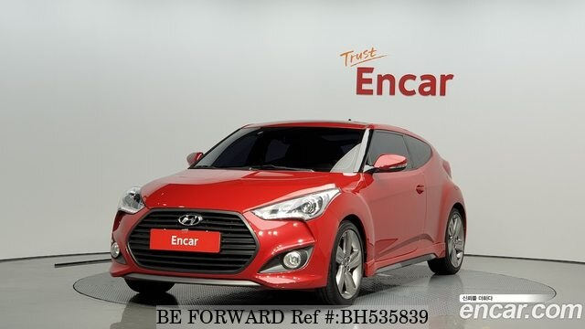 Used 2012 HYUNDAI VELOSTER BH535839 for Sale