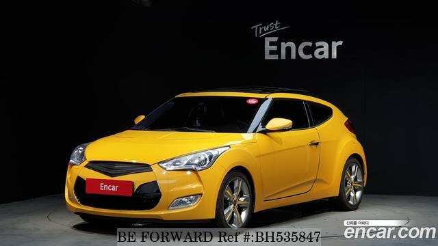 Used 2012 HYUNDAI VELOSTER BH535847 for Sale