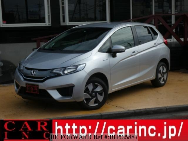 Used 2015 HONDA FIT HYBRID BH535887 for Sale