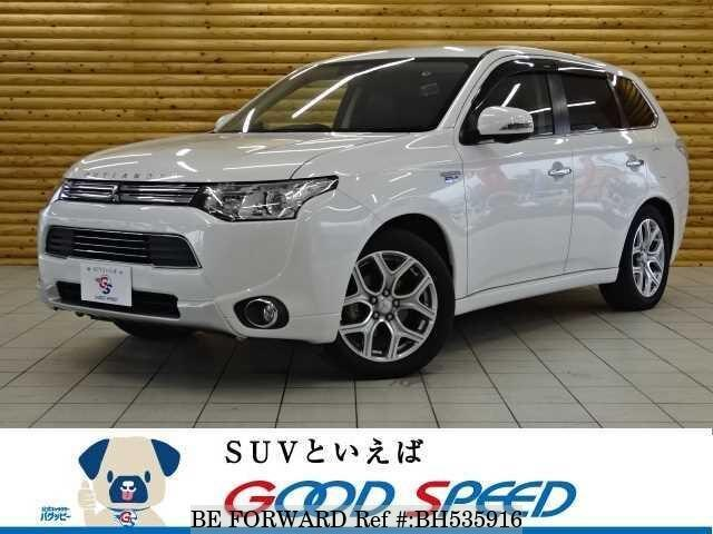 Used 2014 MITSUBISHI OUTLANDER PHEV BH535916 for Sale