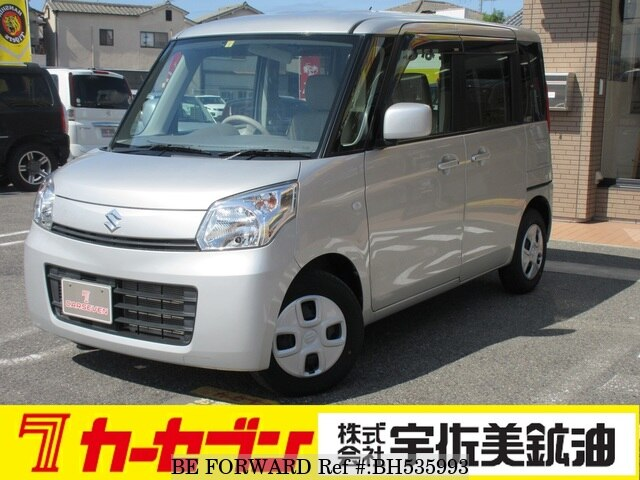 Used 2015 SUZUKI SPACIA BH535993 for Sale