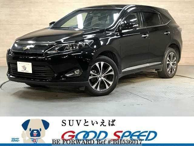 Used 2015 TOYOTA HARRIER BH536017 for Sale
