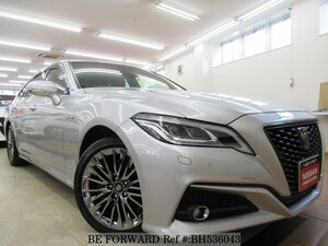 Used 2018 TOYOTA CROWN HYBRID BH536043 for Sale