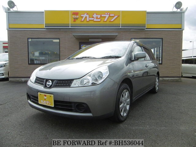 Used 2012 NISSAN WINGROAD BH536044 for Sale