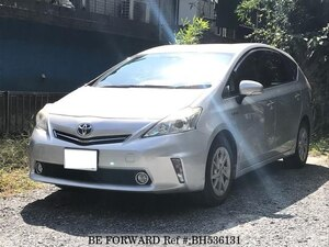 Used 2012 TOYOTA PRIUS ALPHA BH536131 for Sale
