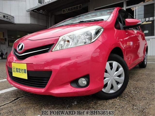 Used 2011 TOYOTA VITZ BH536143 for Sale
