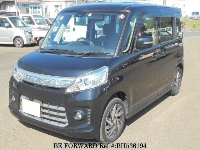Used 2014 SUZUKI SPACIA BH536194 for Sale