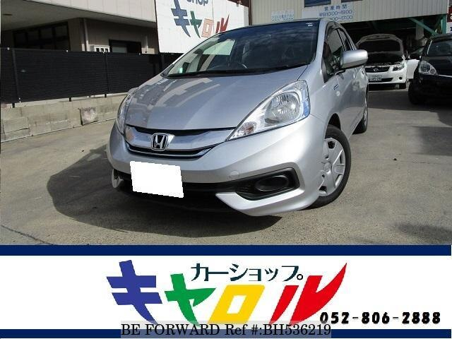 Used 2014 HONDA FIT SHUTTLE HYBRID BH536219 for Sale