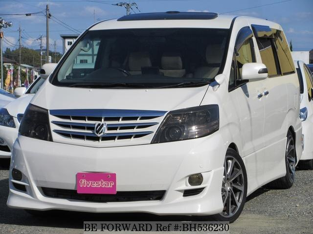Used 2006 TOYOTA ALPHARD BH536230 for Sale
