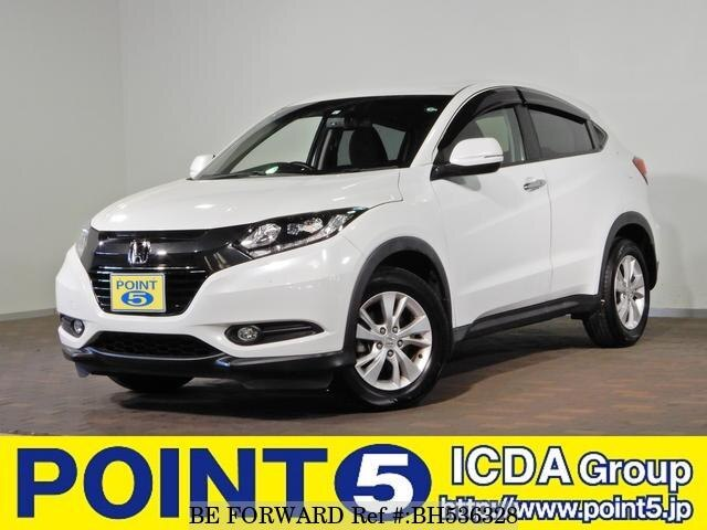 Used 2017 HONDA VEZEL BH536328 for Sale