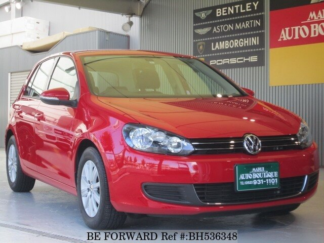 Used 2013 VOLKSWAGEN GOLF BH536348 for Sale