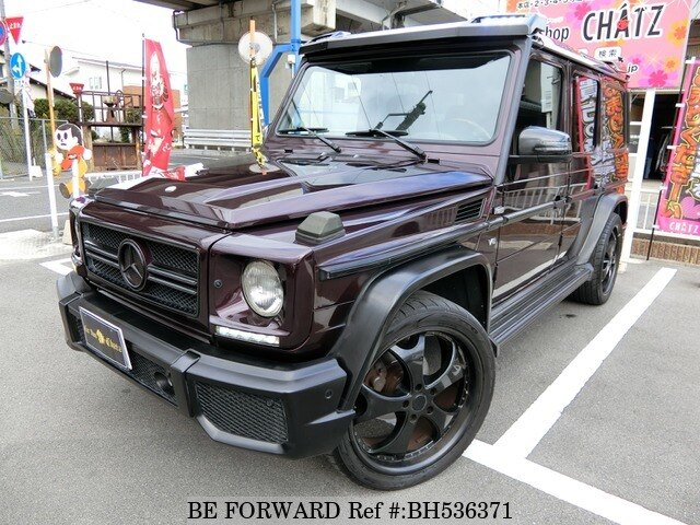 Used 2000 MERCEDES-BENZ G-CLASS BH536371 for Sale