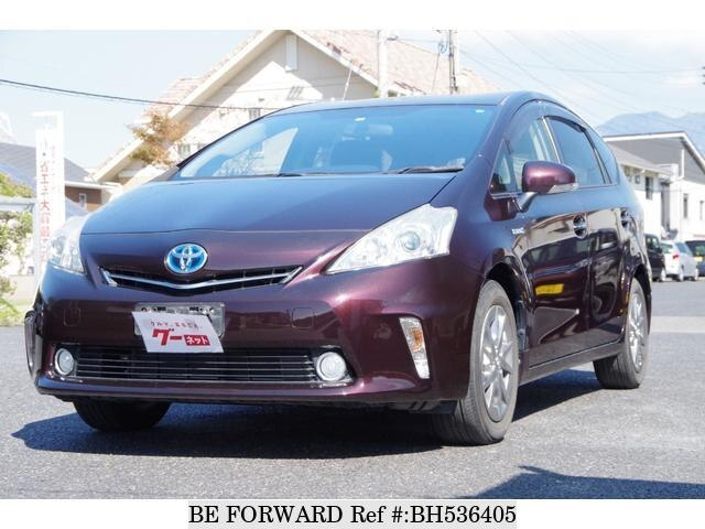 Used 2013 TOYOTA PRIUS ALPHA BH536405 for Sale