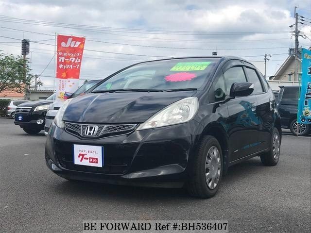 Used 2012 HONDA FIT BH536407 for Sale