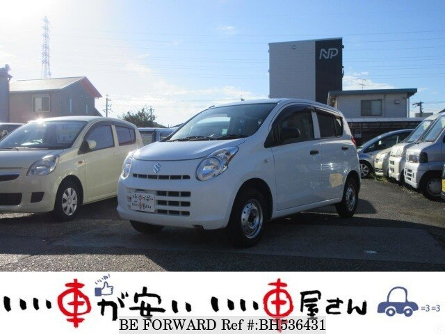 Used 2014 SUZUKI ALTO BH536431 for Sale