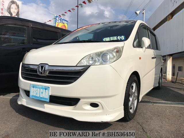 Used 2006 HONDA STEP WGN BH536450 for Sale