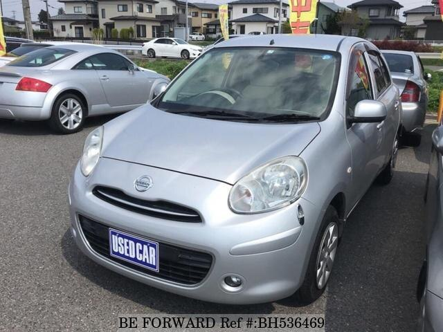Used 2010 NISSAN MARCH BH536469 for Sale