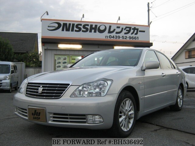 Used 2004 TOYOTA CROWN BH536492 for Sale