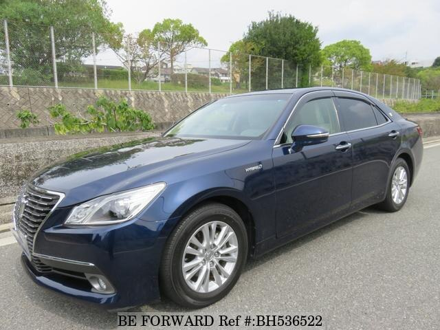 Used 2013 TOYOTA CROWN HYBRID BH536522 for Sale