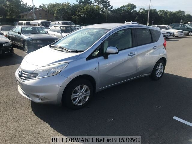 Used 2013 NISSAN NOTE BH536569 for Sale