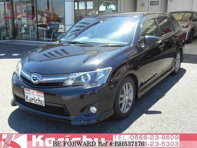 Used 2013 TOYOTA COROLLA FIELDER BH537176 for Sale