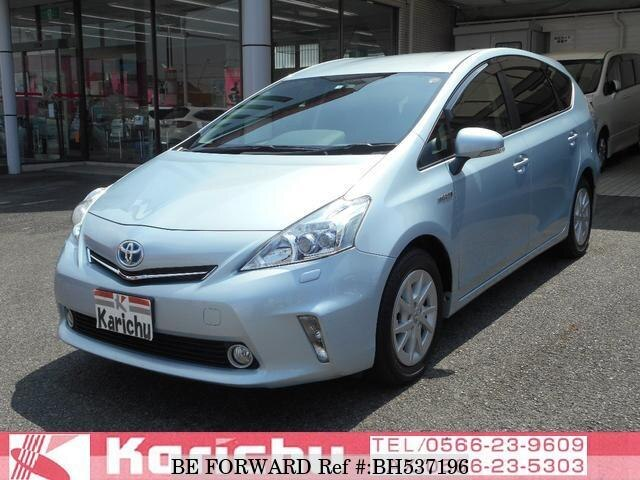 Used 2012 TOYOTA PRIUS ALPHA BH537196 for Sale