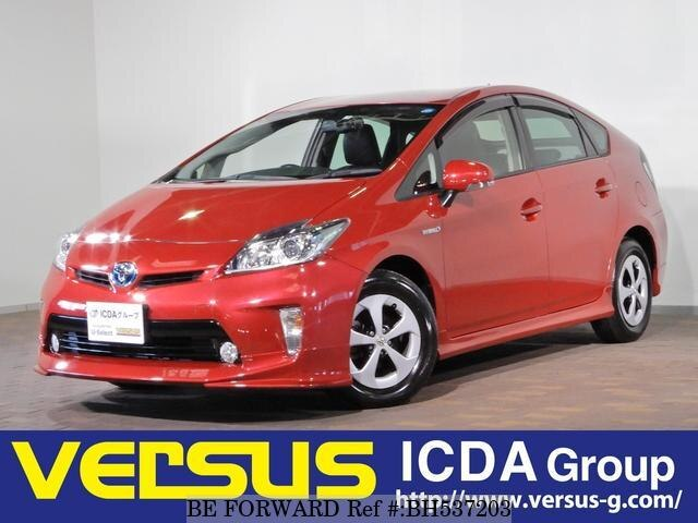 Used 2013 TOYOTA PRIUS BH537203 for Sale