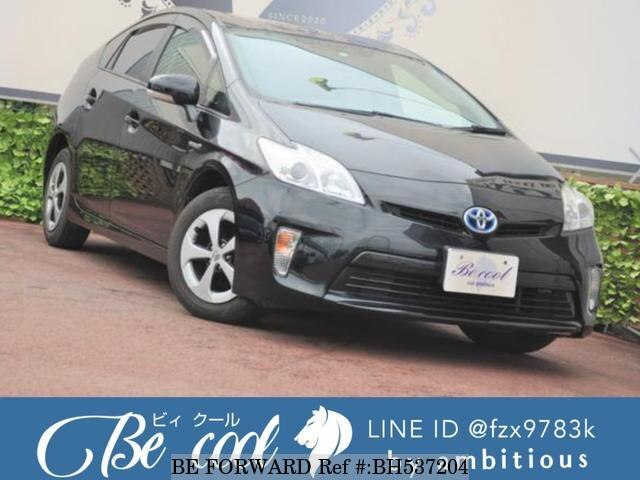 Used 2012 TOYOTA PRIUS BH537204 for Sale