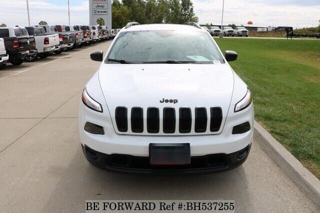 Used 2017 JEEP CHEROKEE BH537255 for Sale